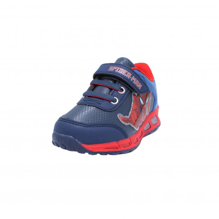 Pantofi sport cu luminite Spiderman, model 8875 navy-rosu, 25-33 EU 1