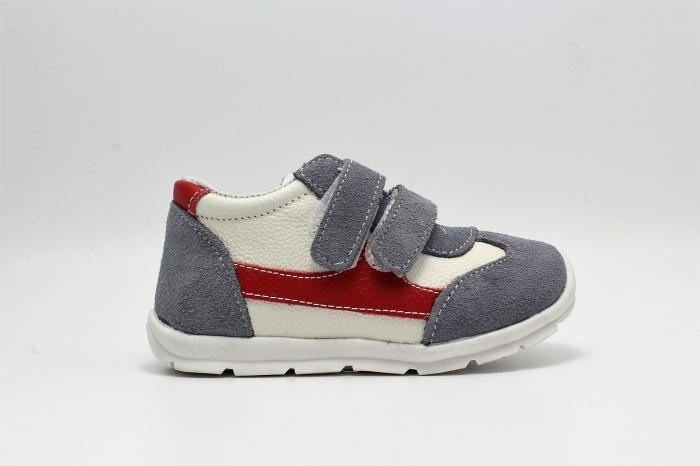 Pantofi sport din piele Happy Bee 19-24 baietei 1