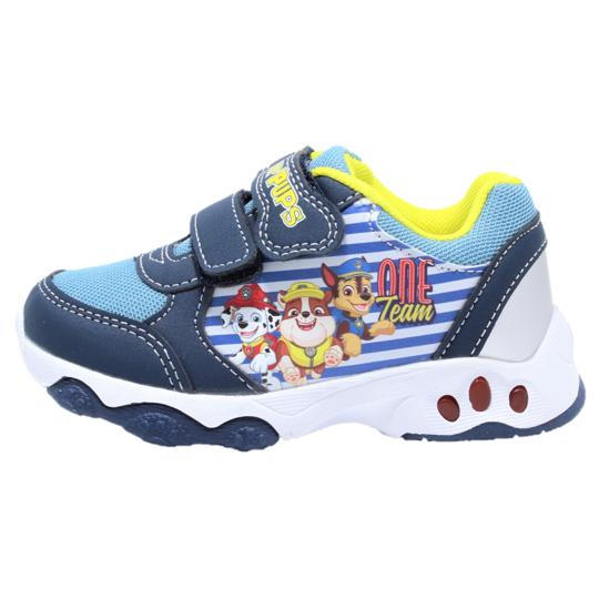 Pantofi sport cu luminite, licenta Paw Patrol (Patrula Catelusilor) 0