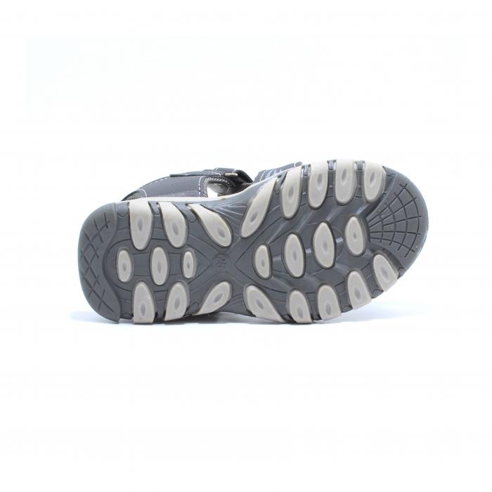 Sandale baieti Happy Bee, model 143090 gri inchis, 25-30 EU 4