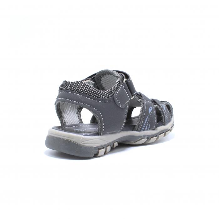Sandale baieti Happy Bee, model 143090 gri inchis, 25-30 EU 3