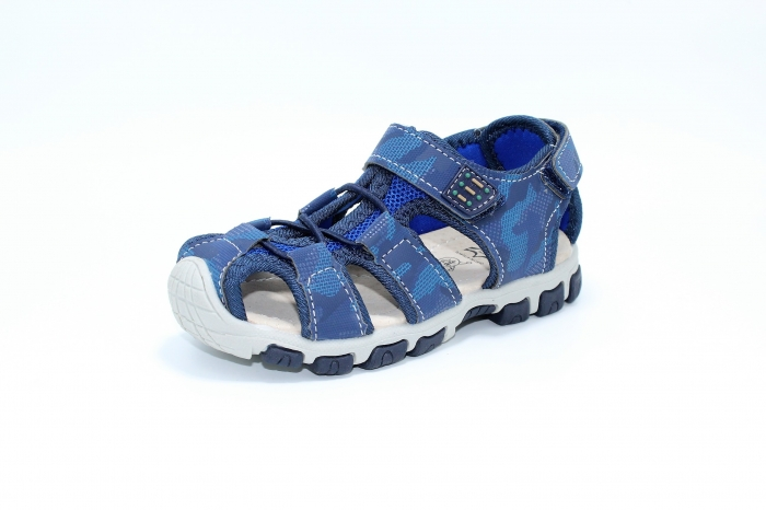 Sandale piele Navy 2