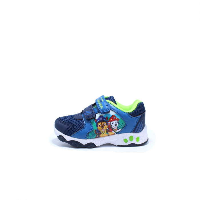 Pantofi sport cu luminite, Paw Patrol PAW7595, navy, 24-30 0