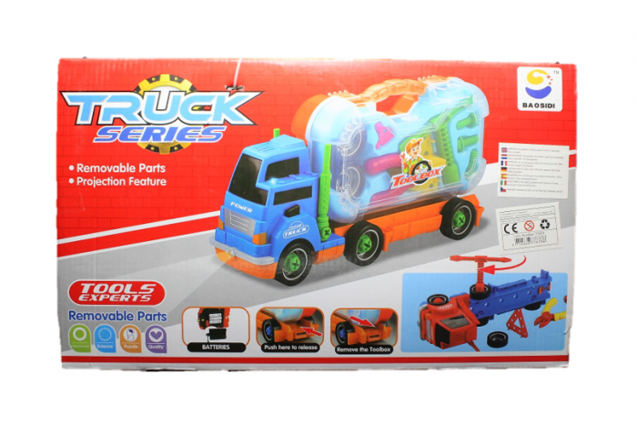 Camion cu trusa de scule auto 3