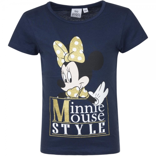 Tricou Minnie 3-8 ani navy 0