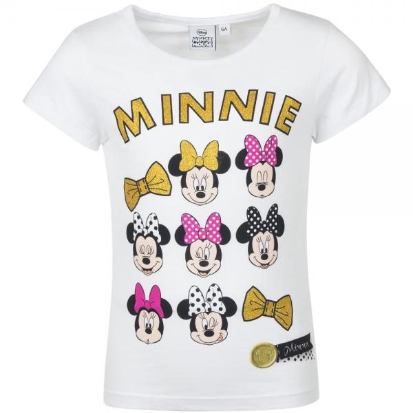 Tricou Minnie 3-8 ani alb 0