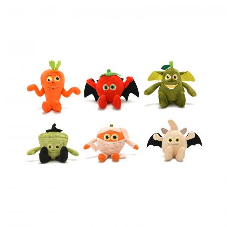 Misfits, set 6 figurine din plus, legumele de groaza, 11 cm0