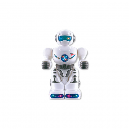 Robot cu lumina si sunete, 18 cm0