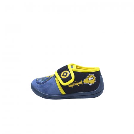 Papuci de interior, Minions 2943, culoare navy, 24-300