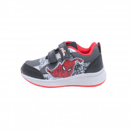 Pantofi sport Spiderman, model 8840 negru-gri, 25-33 EU0