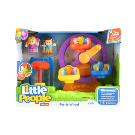 Set de joaca Little People Ferris Wheel cu sunete, Fisher-Price1