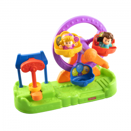 Set de joaca Little People Ferris Wheel cu sunete, Fisher-Price0