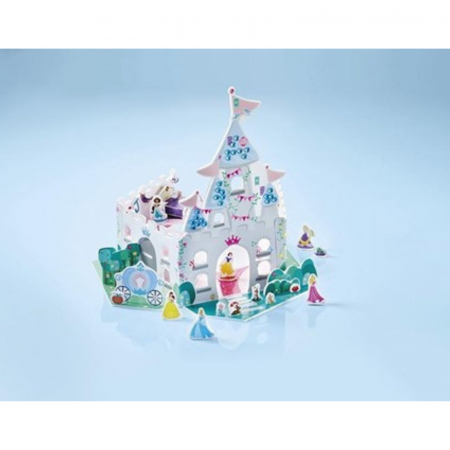 Set creativ Castelul Printeselor Disney, 29 cm2