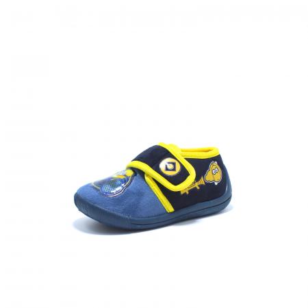 Papuci de interior, Minions 2943, culoare navy, 24-302