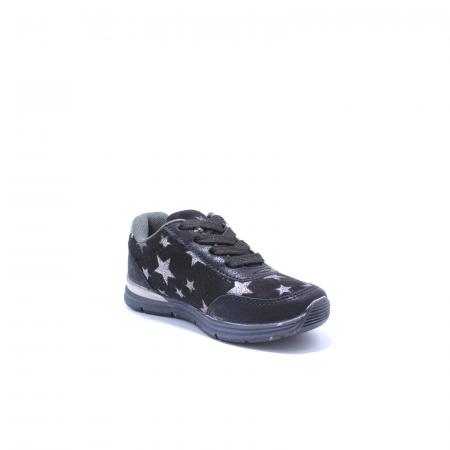 Pantofi sport fete, Sprox 427601, negru, 28-34 EU2