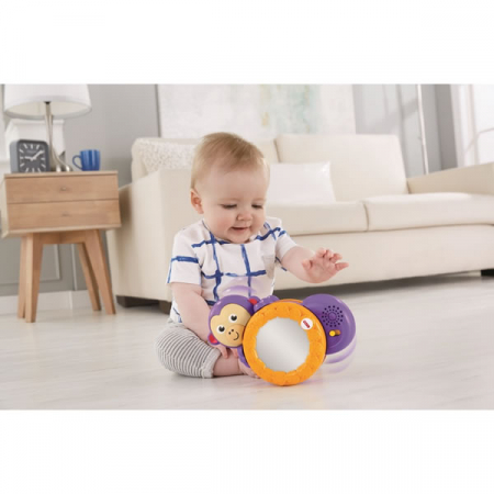 Maimutica taratoare, jucarie interactiva bebelusi, Fisher-Price [1]