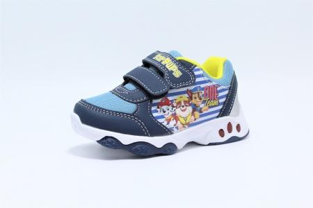 Pantofi sport cu luminite, licenta Paw Patrol (Patrula Catelusilor), model 6145, multicolor, 24-30 EU3
