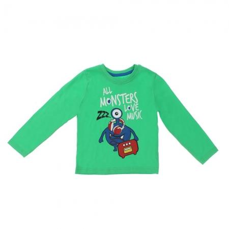 Bluza Lupilu Monster 2-5 ani verde0