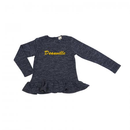 Bluza Mini Mignon, Bleu/Gri Deanville TS013, 6-16 ani0