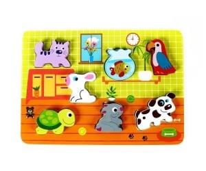 Puzzle Animale de companie [0]