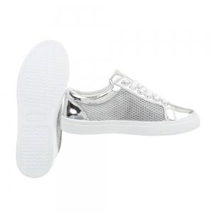 Pantof silver timp liber/leisure de vara pentru femei2