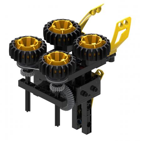Set constructie Kosmos Engineering, Rovere offroad, 25x28 cm [3]