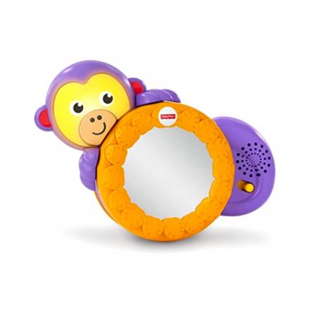 Maimutica taratoare, jucarie interactiva bebelusi, Fisher-Price0