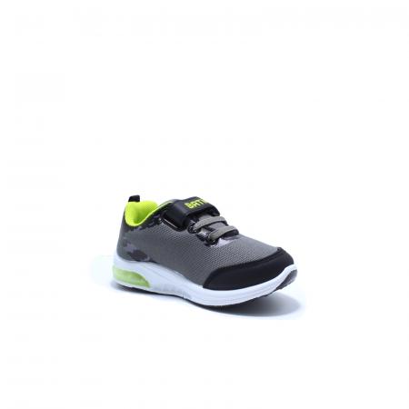 Pantofi sport cu luminite, Batman BTM1565 gri, 25-333