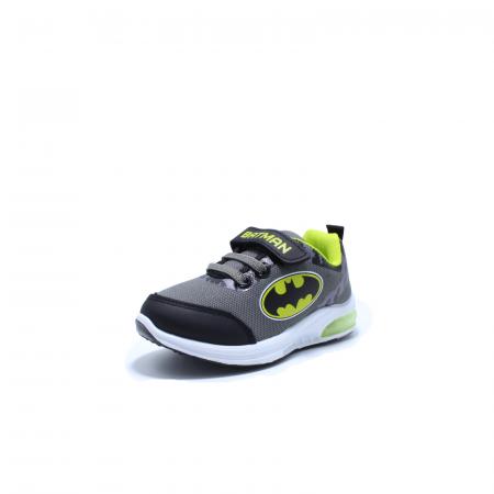 Pantofi sport cu luminite, Batman BTM1565 gri, 25-331