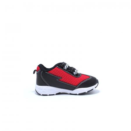 Pantofi sport cu luminite, Disney Cars 3105, negru-rosu, 24-30 [1]