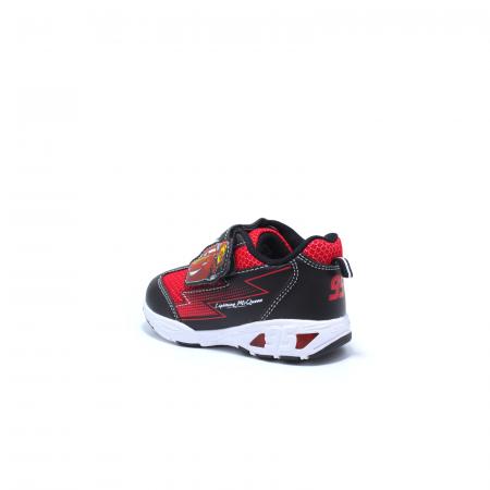 Pantofi sport cu luminite, Disney Cars 3105, negru-rosu, 24-30 [3]