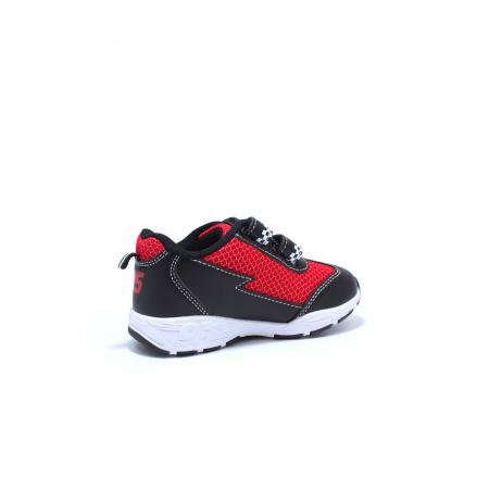 Pantofi sport cu luminite, Disney Cars 3105, negru-rosu, 24-30 [2]