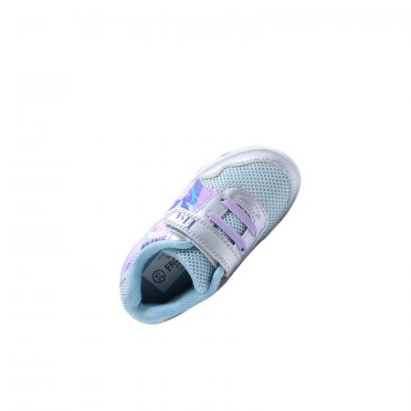 Pantofi sport cu luminite, Frozen FR2095, argintiu, 24-325