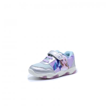 Pantofi sport cu luminite, Frozen FR2095, argintiu, 24-321