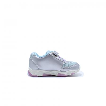 Pantofi sport cu luminite, Frozen FR2095, argintiu, 24-323