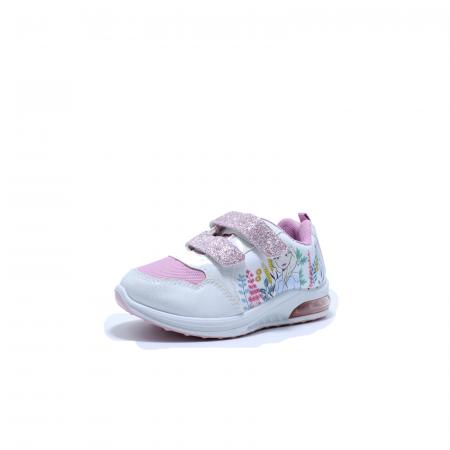 Pantofi sport cu luminite, Frozen FR2415, alb, 24-321