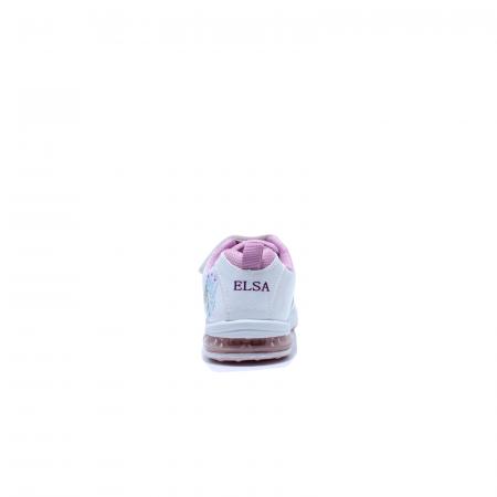 Pantofi sport cu luminite, Frozen FR2415, alb, 24-323
