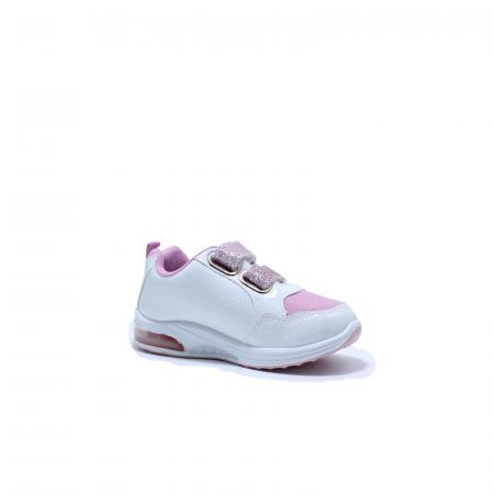 Pantofi sport cu luminite, Frozen FR2415, alb, 24-322
