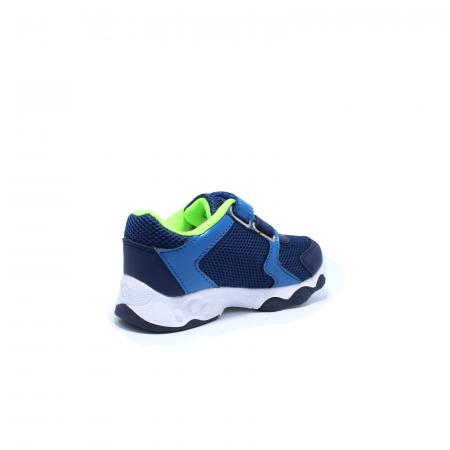 Pantofi sport cu luminite, Paw Patrol PAW7595, navy, 24-304