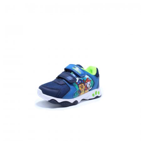 Pantofi sport cu luminite, Paw Patrol PAW7595, navy, 24-302