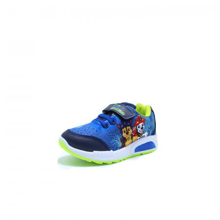Pantofi sport cu luminite, Paw Patrol PAW7795 navy, 24-301