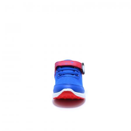 Pantofi sport cu luminite, Spiderman SPM9435, rosu-albastru, 25-334