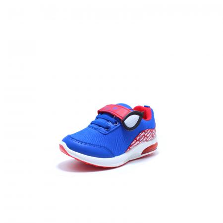 Pantofi sport cu luminite, Spiderman SPM9435, rosu-albastru, 25-331