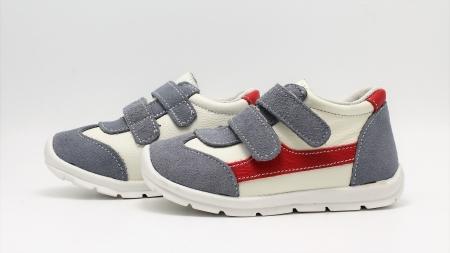Pantofi sport din piele Happy Bee 19-24 baietei4