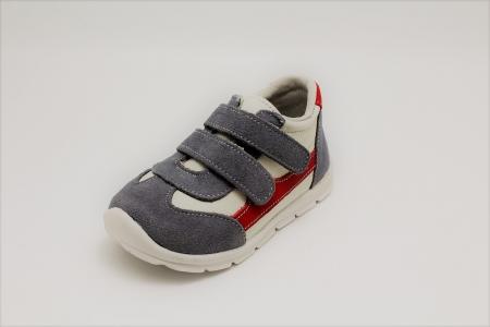 Pantofi sport din piele Happy Bee 19-24 baietei3