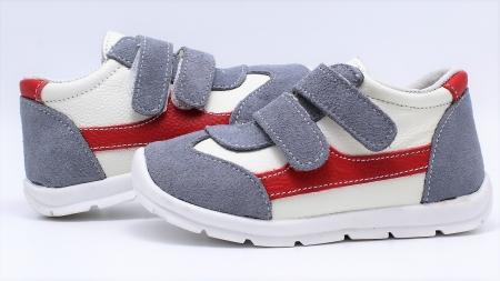 Pantofi sport din piele Happy Bee 19-24 baietei5