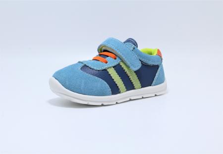 Pantofi sport din piele Happy Bee, model 142054, pentru baieti 19-24 EU1