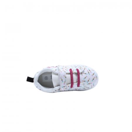 Pantofi sport Minnie Mouse DMM7350, alb, 24-325