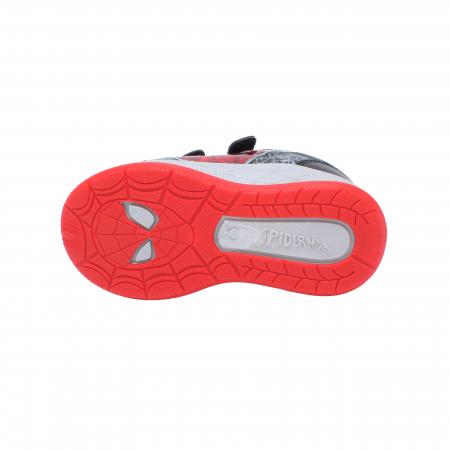 Pantofi sport Spiderman, model 8840 negru-gri, 25-33 EU4