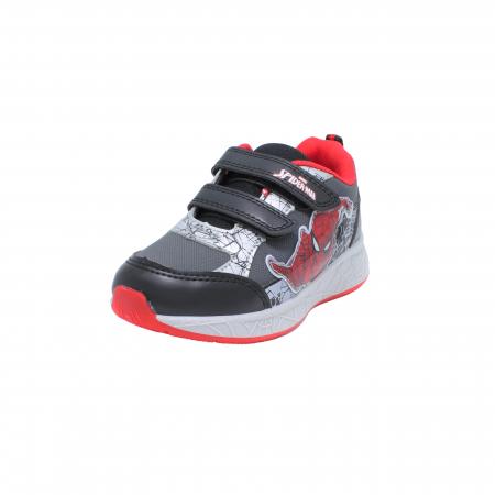 Pantofi sport Spiderman, model 8840 negru-gri, 25-33 EU1